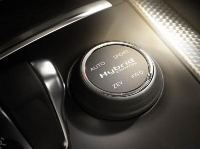 Citroen DS5 Hybrid Fahrmodi-Schalter, Foto: Citroen