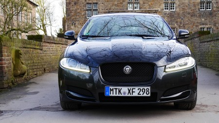 Jaguar XF AWD, Foto: Autogefühl