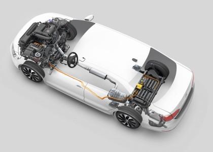 Hybrid-Antriebsstrang Foto: Volkswagen