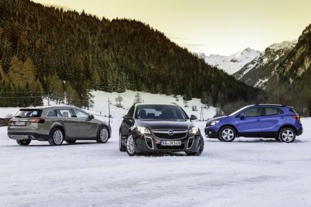Opel Allrad Modelle, Foto: Opel