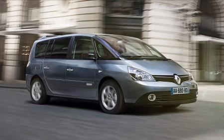 Espace 2013 mit aktuellem Markengesicht - Foto: Renault