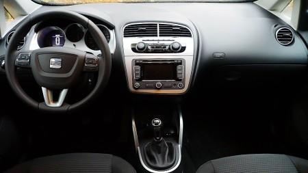 Seat Altea Freetrack Cockpit, Foto: Autogefühl