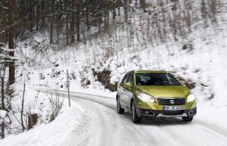Suzuki SX4 S-Cross im Schnee-Test, Foto: Suzuki