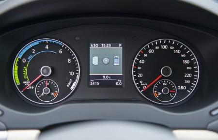 VW Jetta Hybrid - Drehzahlmesser überflüssig Foto: Volkswagen