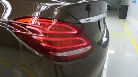 Die neue Mercedes C-Klasse, Heckleuchten, Foto: Autogefühl