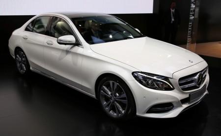 Die neue Mercedes C-Klasse auf der NAIAS, Foto: Autogefühl