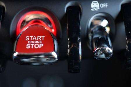 Neuer Start-Schalter im neuen Mini, Foto: Mini