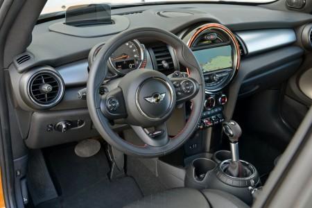 Innenraum des neuen Mini Cooper S, Foto: Mini