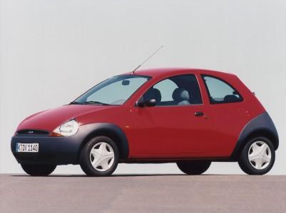 Ford Ka: Kombination aus rund und spitz Foto: Ford