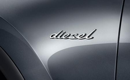 """Nur das """"Diesel""""-Badge an der Seite verrät es, Foto: Porsche"""