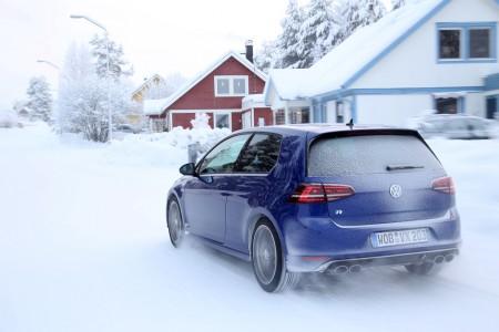 VW Golf R in Schweden, Foto: VW