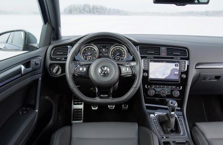 VW Golf R Innenraum, Foto: VW