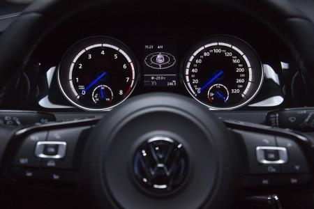 Der neue VW Golf R - Instrumente, Foto: VW