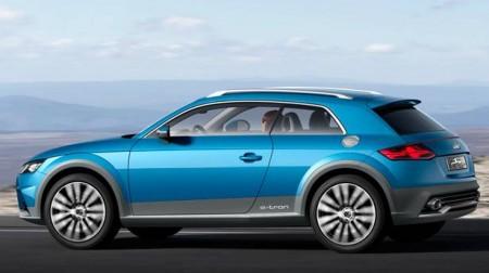 """""""Die deutschen Hersteller studieren zu sehr die Konkurrenz und weniger die Wünsche der Kunden"""" - Audi-Allroad-Shooting-Brake-Studie für Detroit - Foto: Audi"""