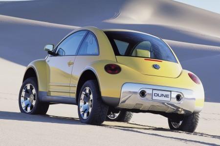 Studie Beetle Dune, Los Angeles 2000 - Foto: Volkswagen