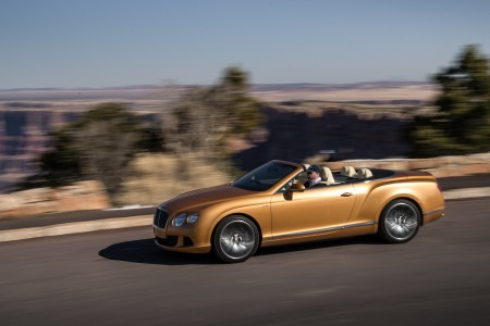 Continental GT Speed Cabrio (für 227.290 Euro)  - Foto: Bentley