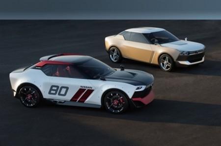 Nissan-Studien ix NISMO (vorn) und iX Freeflow - Foto: Nissan