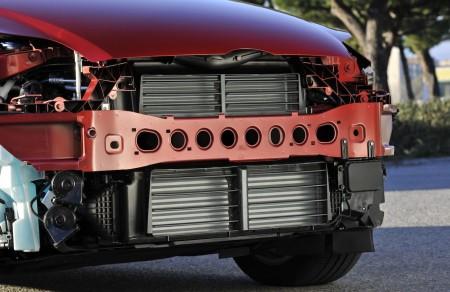 Beim Ford Focus öffnen die Kühlungs-Klappen nur bei Bedarf, um den Luftwiderstand zu verringern, Foto: Ford
