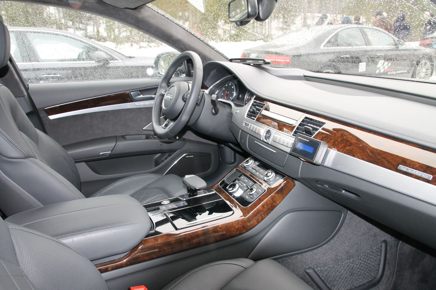 Audi A8 Testbericht Mit 4 0 Tfsi V8 Autogef 252 Hl