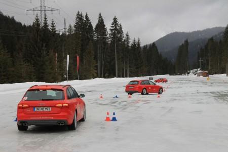 Audi S4 Avant bei der Audi driving experience, Foto: Audi