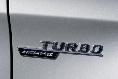 Mercedes-Benz GLA 45 AMG badge, Foto: Mercedes