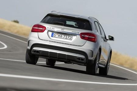 Mercedes-Benz GLA 45 AMG, Foto: Mercedes
