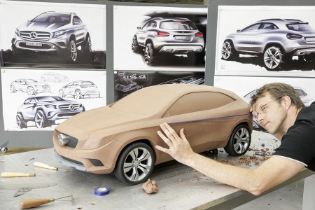GLA-Tonmodell - Foto: Mercedes-Benz