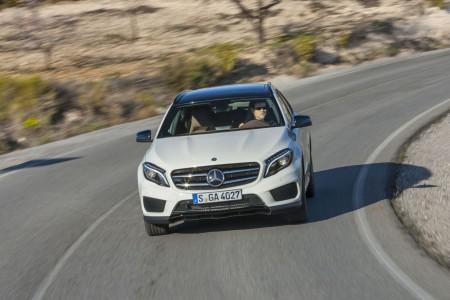 Autogefühl mit dem neuen Mercedes GLA, AMG-Line Paket, Foto: Konstantin Tschovikov