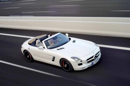 Mercedes SLS AMG Roadster, Foto: Mercedes