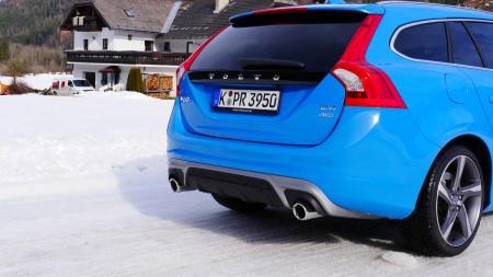 Volvo V60 R-Design Heck, Foto: Autogefühl