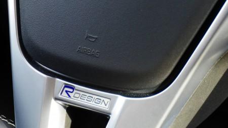 Volvo V60 R-Design Lenkrad, Foto: AutogefühlVolvo V60 R-Design Lenkrad, Foto: Autogefühl