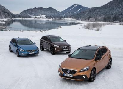 Volvo V60, XC60, V40CrossCountry, Foto: Volvo