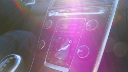 Volvo XC60 - die Volvo-Mittelkonsole eignen sich stets hervorragend als Fotomotiv, Foto: Autogefühl