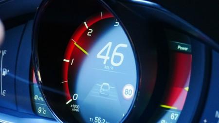Volvo XC60 digitaler Tachometer in der Top-Ausstattung, Foto: Autogefühl