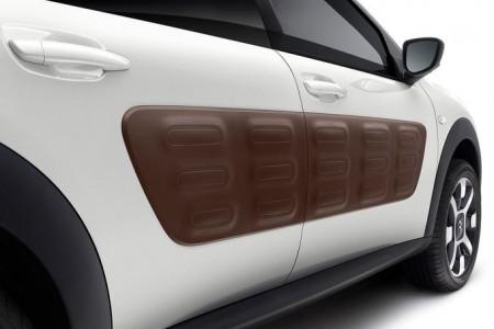 Die gefurchten Airbumps gibt es in vier verschiedenen Farben - Foto: Citroën