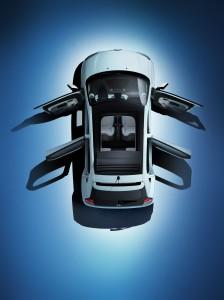 Erstmals mit fünf Türen und wieder mit Rolldach - Foto: Renault