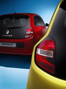 Renault Twingo 2014 Heckleuchte - Foto: Renault