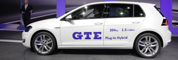 Der neue Golf GTE, Foto: VW
