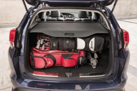Honda Civic Tourer Ladebeispiel, Foto: Honda