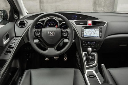 Honda Civic Tourer Cockpit, Foto: Honda