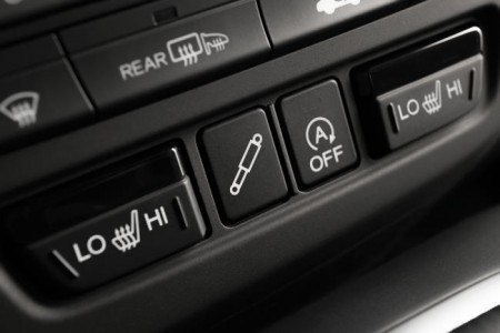 Honda Civic Tourer Knopf für adaptive Dämpfer, Foto: Honda
