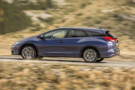 "Honda Civic Tourer mit ""schwebendem"" Dach, Foto: Honda"