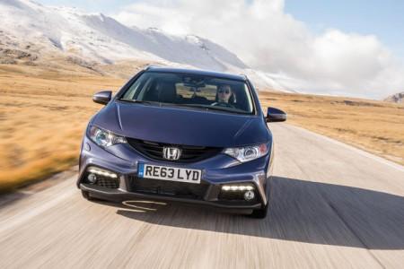 Honda Civic Tourer Front-Ansicht, Foto: Honda