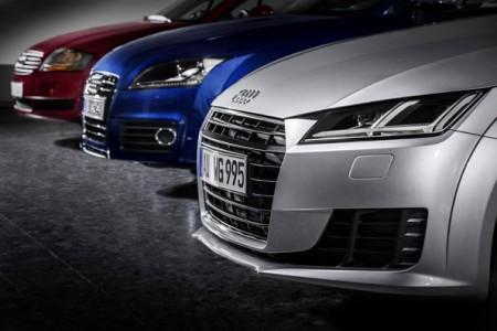 Die drei Generationen des Audi TT, Foto: Audi