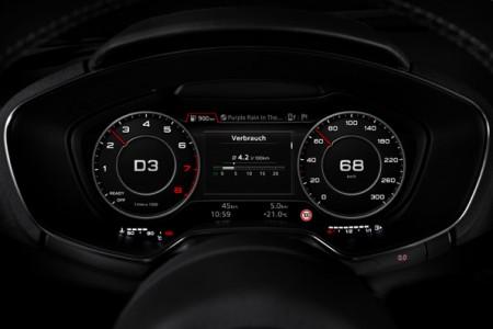 Neuer Audi TT mit digitalen Instrumenten, Foto: Audi