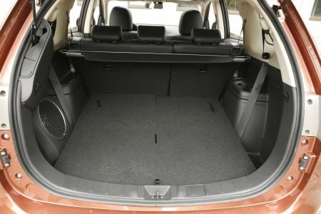Mitsubishi Outlander Kofferraum, Foto: Mitsubishi