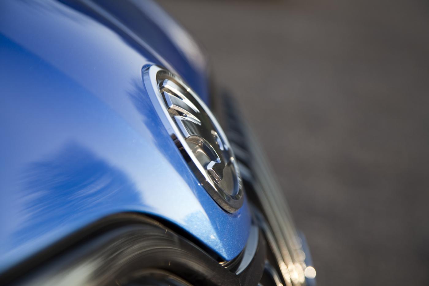 Skoda Octavia Combi RS - Emblem Foto: Thomas Blachetzki