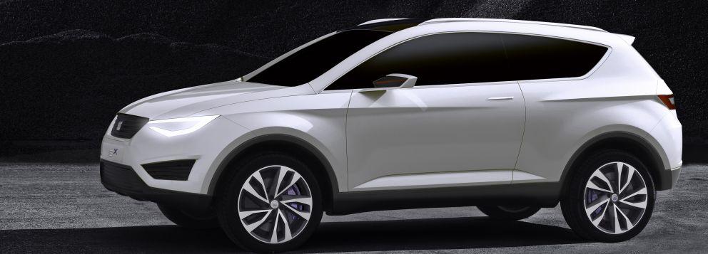 Seat IBX Studie von 2011 als Vorbild für das Seat SUV, Foto: Seat