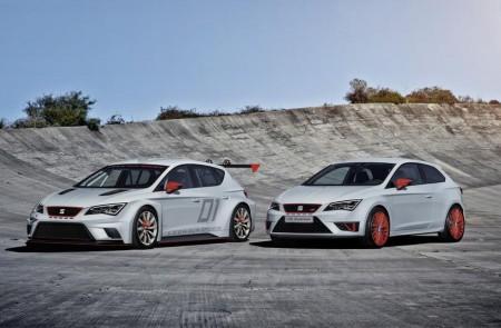 Vorbild für den Cup Racer (links): Seat Leon Cupra, Foto: Seat