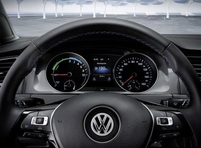 VW e-Golf Instrumente, Foto: VW